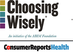 Click here to visit the Consumer Health Choices - Choosing Wisely website