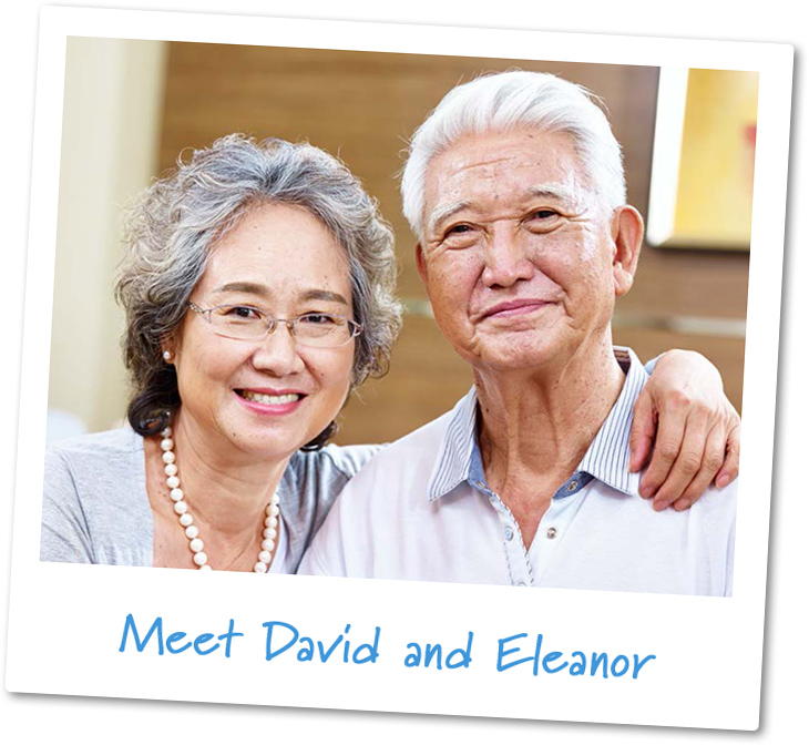 Retirees like me: David and Eleanor