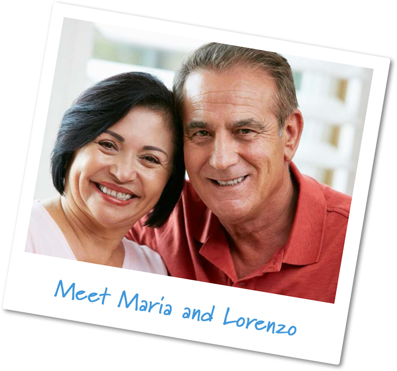 Retirees like me: Maria and Lorenzo