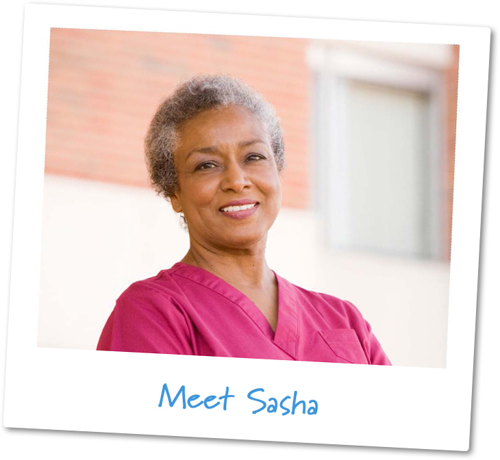 Retirees like me: Sasha