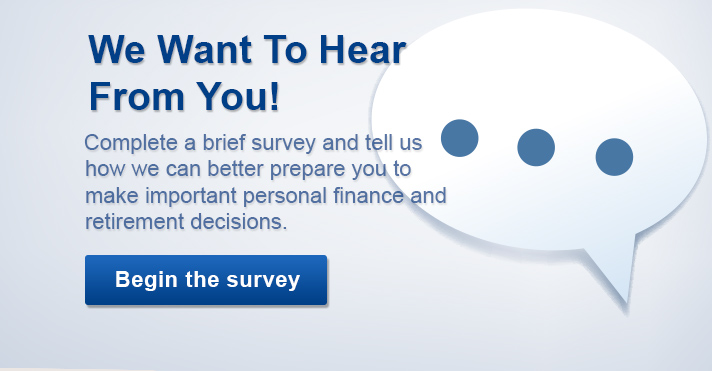 Take a short survey and help improve OPERS' Educational Opportunities