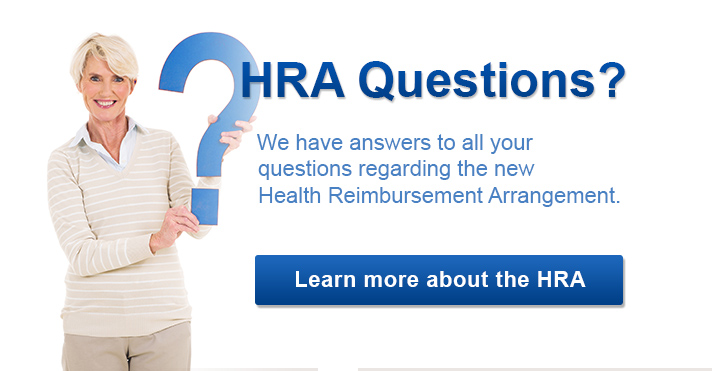 Learn more about HRA: Health Reimbursement Arrangement