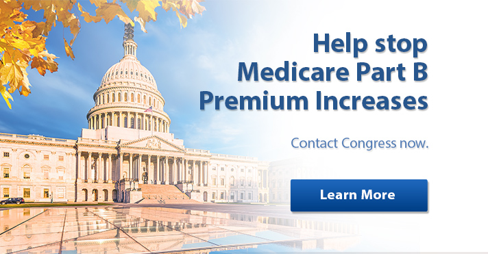 Act now to keep your Medicare Part B Premiums from increasing in 2017.