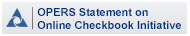 Statement from the Ohio Public Employees Retirement System on the Online Checkbook Initiative
