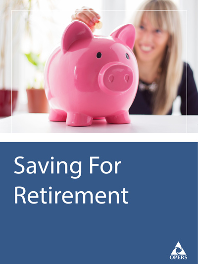 Saving For Retirement Leaflet