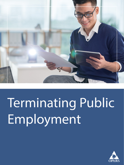 Terminating Public Employment cover