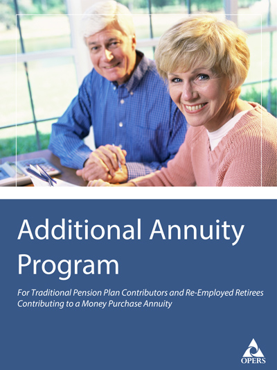 Additional Annuity Program Leaflet cover