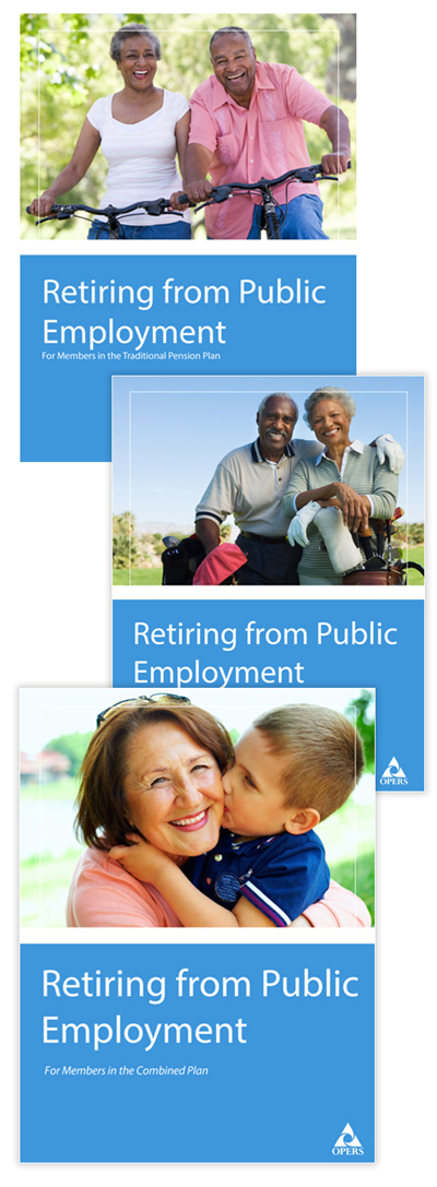 Retiring from Public Employment leaflet cover