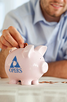 OPERS Member actively saving money