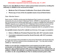 Medicare Part A Certification Letter