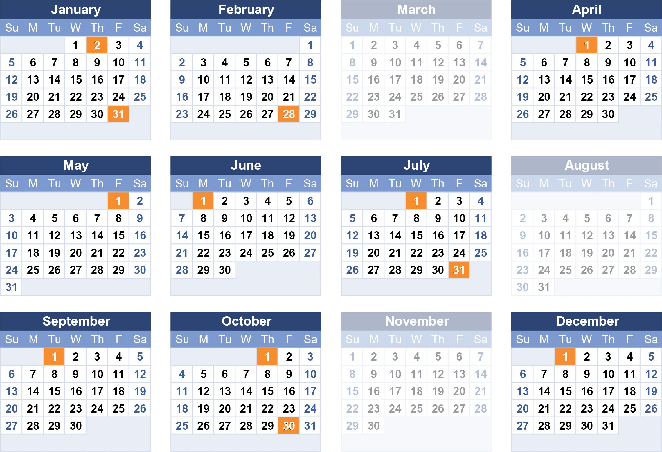 ssa payment schedule 2020